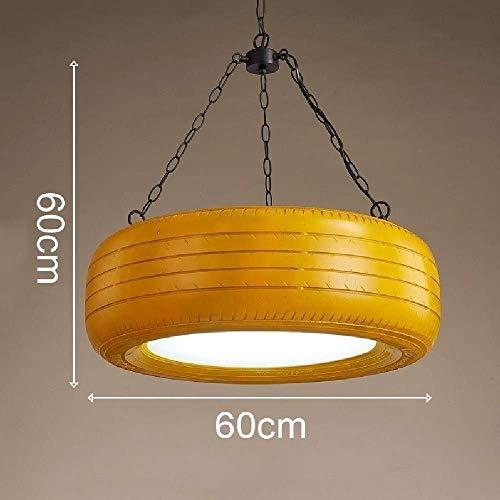 Hanglamp, creatieve individualiteit rubberen band licht metalen ijzeren ketting 30 W LED kroonluchter, huis decoratieve Loft gang Aisle hangende lamp Φ60 cm