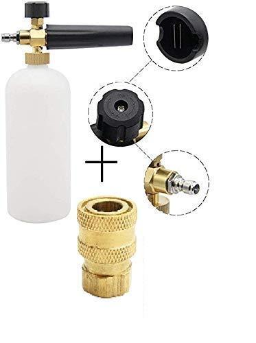 STARQ Car Washer Snow Foam Lance Bottle All ST Models Compatible Adjustable 1L Set Plus Brass Adapter
