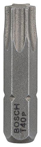 Bosch Professional Bit Extra-Hart für Innen-Torx-Schrauben (T40, Länge: 25 mm, 3 Stück)