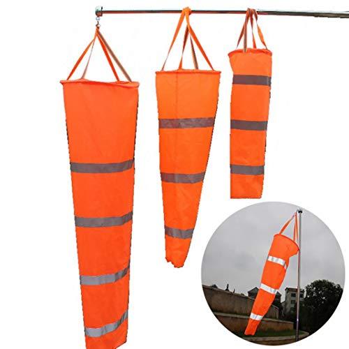 YSHTAN Windsok Overige Sport Tassen Windsok 0,8 m/1 m/1,5 m Luchtvaart luchthaven Paraglide Windsok Reflecterende Wind Indicator - 1M