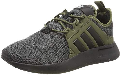 adidas Unisex-Kinder X_PLR Gymnastikschuhe, Grau (Dark Grey Heather/Core Black/Raw Khaki),38 EU (5UK)