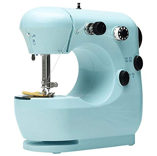 【3-7 Days DELIVERY】Mini Electric Sewing Machine Portable Household Sewing Machine Beginner Tailors Free-Arm Crafting Mending Machine