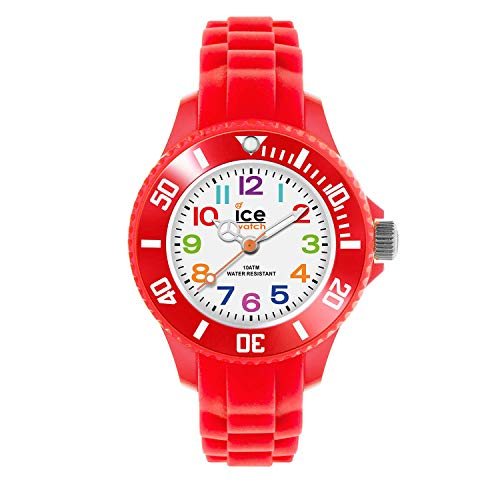 Ice-Watch Kinder-Armbanduhr Ice-Mini rot MN.RD.M.S.12