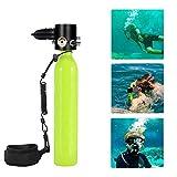 Mini Sauerstoffflasche, Tragbare Tauchausrüstung, Hochdruckluftpumpe Tauchflaschen Nachfülladapter...