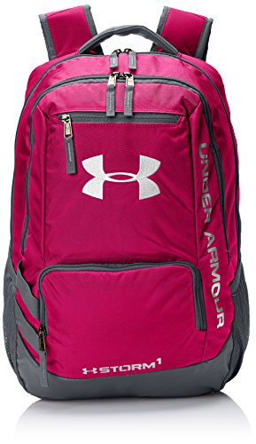 Under Armour Storm Hustle II Backpack, Tropic Pink (654)/White, One Size Fits All