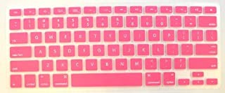 Keyboard Silicone Skin Cover for New Aluminum Unibody MacBook Pro, Pink