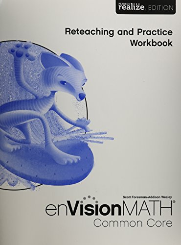 Math 2015 Common Core Practice Reteaching Workbook Grade 6