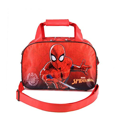 Karactermania Spiderman Spiderweb-Sports Bag Kinder-sporttas, 38 cm, rood (Red)