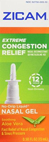 Zicam Ext Congestion Nase Size .5z Zicam Extreme Congestion Relief Nasal Gel .5z