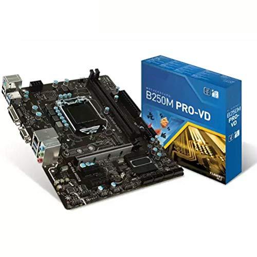Gazaar Placa base minera SATA3 USB3.0 PCI-E X16 3.0 computadora para MSI B250M PRO-VD placa base LGA 1151 DDR4 Gaming Motherboard