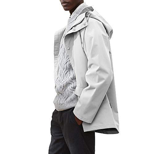 Tretorn Wings Woven Jacket Grau, Jacke, Größe S - Farbe Chalk
