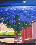 Cuadro creativo abstracto flor digital pintura DIY lienzo digital pintura al óleo decoración del hogar sala arte de la pared