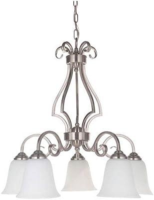 Amazon.com: Craftmade 7121bn3-wg Tres Luz Lámpara de araña ...