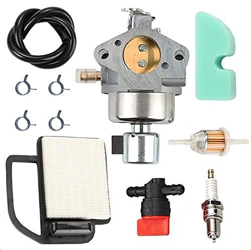 Panari 20 853 33-S Carburetor + 20 083 02-S Air Filter Tune Up Kit for Kohler Courage SV470 SV530 SV540 SV541 SV590 SV591 SV600 SV601 SV610 SV620 Engine Toro MTD Lawn Mower Tractor
