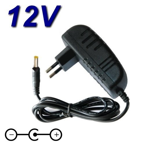 Top Charger netadapter oplader 12 V voor draagbare DVD-speler LG DP450