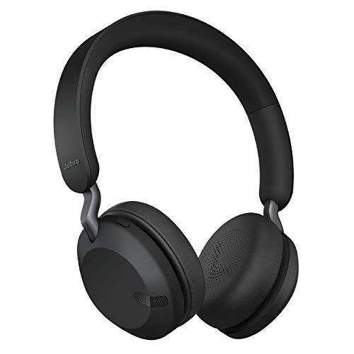 Jabra Elite 45h, Titanium Black – On-Ear Wireless...