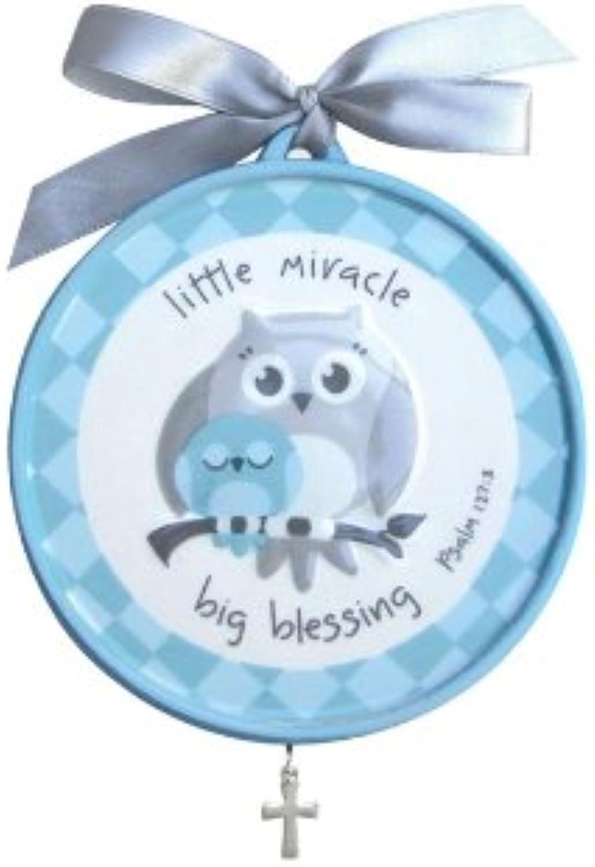 Gg-grow In Grace Crib Medallion-lmbb-bluee