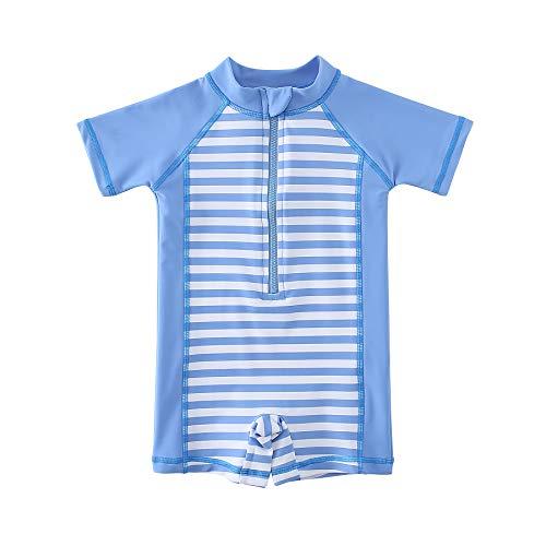 Wishere Baby Boy Girl Rash Guard Swimwear Shirt UPF 30+ Baby Swimsuit