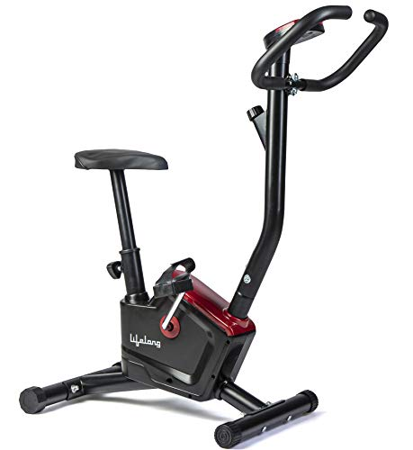 Lifelong LLF54 Fit Pro Stationary Exercise Belt Bike