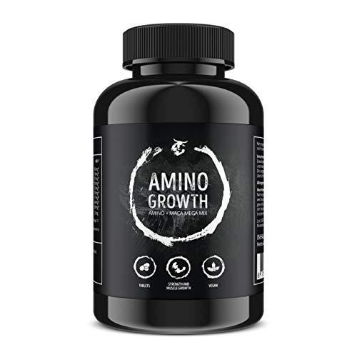 AMINO GROWTH 150 Comprimidos (Vegan)   Alta dosis con 5000...