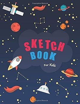 Sketch book for kids  Blank Paper for Drawing - 110 Pages   8.5 x11   Blank Paper for Drawing Doodling or Sketching  Sketchbooks For Kids