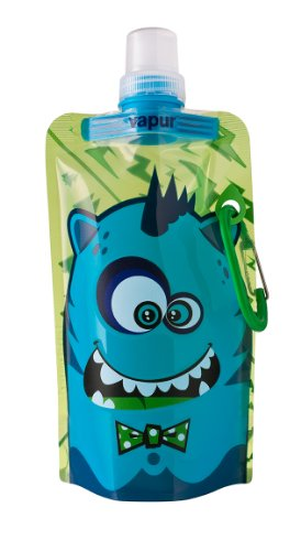 Vapur VA10181 Quencher Anti-Bottle per Bambino BO, Unisex Adulto, carbón, 0.4 L