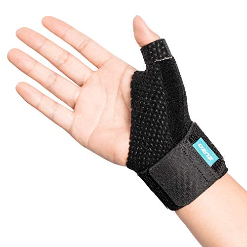 2U2O Compression Reversible Wrist Stabilizer Splint & Thumb for BlackBerry Thumb,Arthritis,Carpal Tunnel, Tendonitis,Sprained,Pain Relief,Trigger Finger
