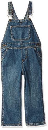 Wrangler Authentics Toddler Boys Denim Overall, aged indigo, 4T