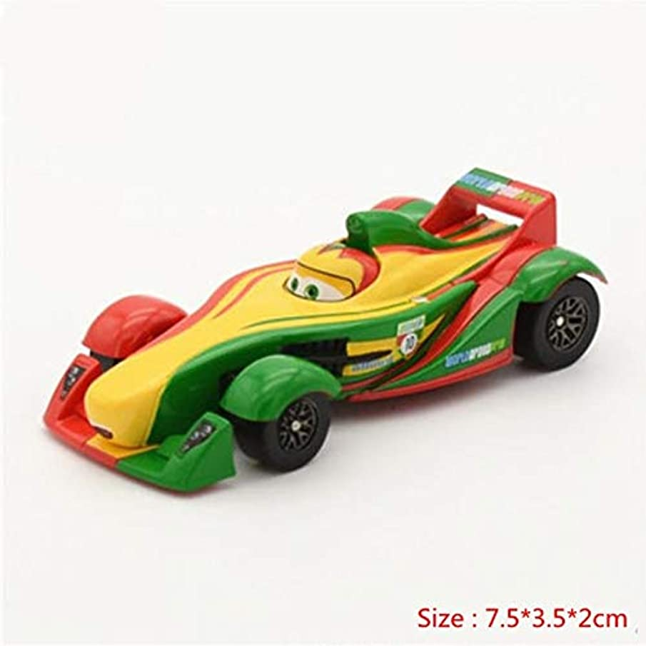Disney Cars Disney Pixar Cars 2 and Cars 3 Lightning McQueen Family Chino Diecast Metal Alloy Toy Car 1:55 in Stock 19