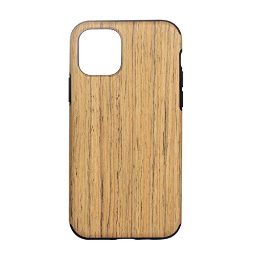 Compatible with iPhone Wood Texture TPU Custodia Protettiva for iPhone XIR (2019) (Wood Type : Rosewood)