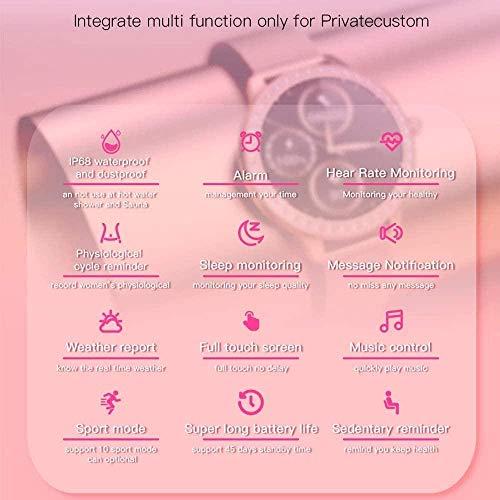 Montre connectée tendance 2021 pour femme, bracelet de suivi d'activité étanche, montre pour fille VS Smart Wach PK Band-doré