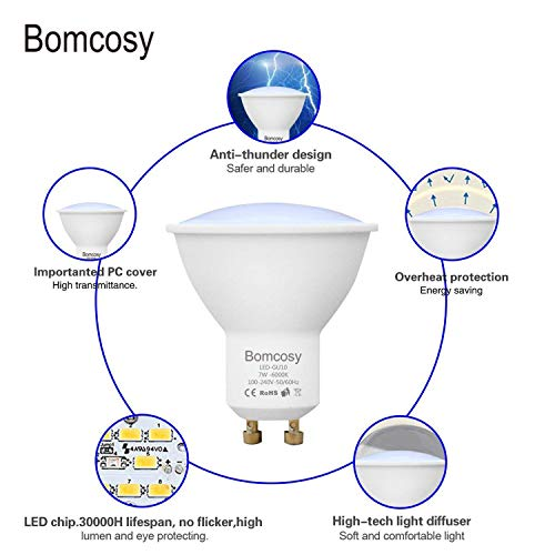 Bomcosy CM-GU10LEDDW10P-11