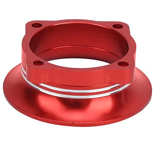 Qqmora Material de aleación de Aluminio Buen Efecto de ventilación Peso Ligero Colores Brillantes Cubierta del Canal de enfriamiento del Coche RC, Adecuado para HSP RC Drifting Car(Red)
