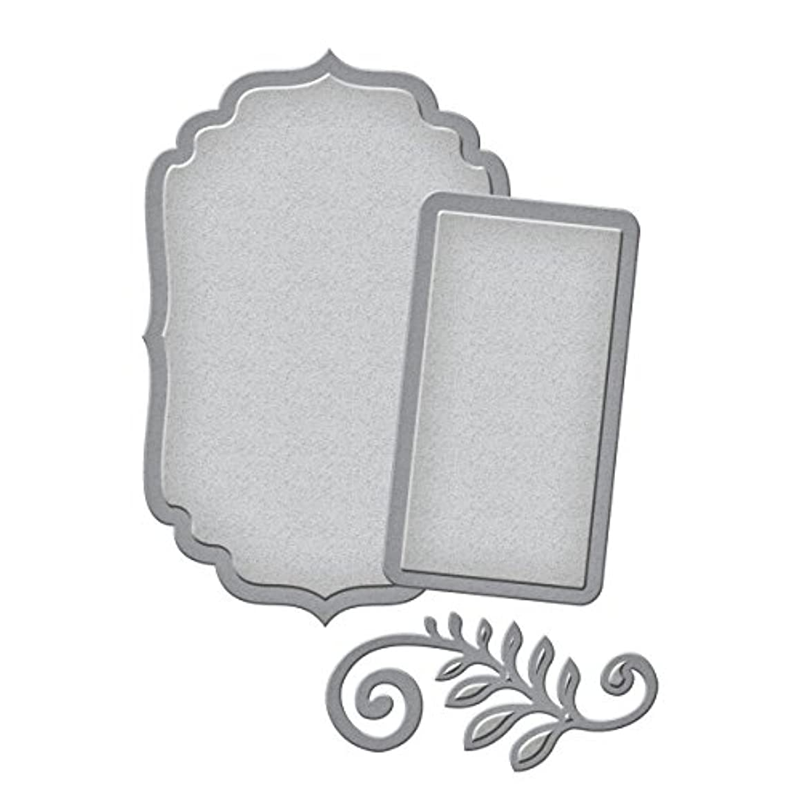 Spellbinders S1-011 Die D-Lites Label and Accent Etched/Wafer Thin Dies