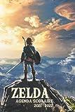 Zelda Agenda Scolaire 2021-2022: Journalier - 1 Page Pour Chaque Jour De L'Année   Primaire - Collège - Lycée