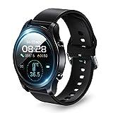 スマートウォッチ 2021最新版Bluetooth5.2 多機能 腕時計 活動量計 歩数計 23種類運動モード 着信通知 SMS/Twitter/Line/アプリ通知 IP68防水 レディース メンズ iPhone/Android対応