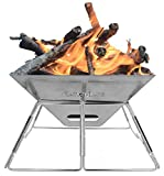 Wealers Portable Fire Pit -...