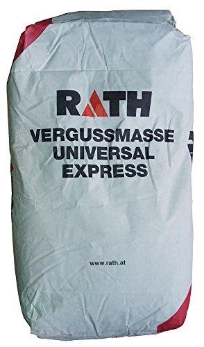 1,80€/Kg Rath Vergussmasse Universal Express 25Kg Feuerbeton