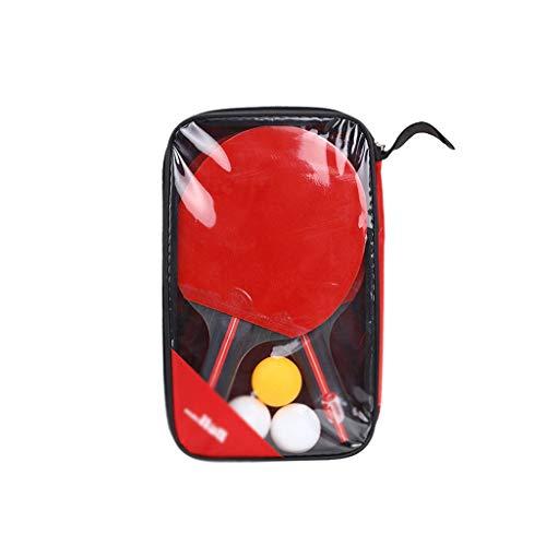 Amazing Deal LFLLFLLFL Table Tennis Racket Set, Sporting Goods Beginner Training Ping Pong (Size : S...