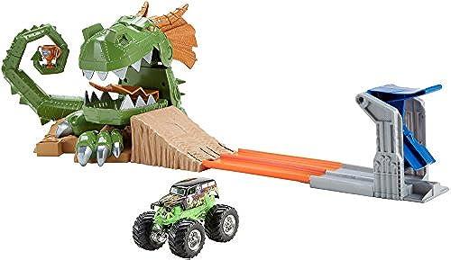 Hot Wheels Monster Jam Dragon Arena Attack Playset