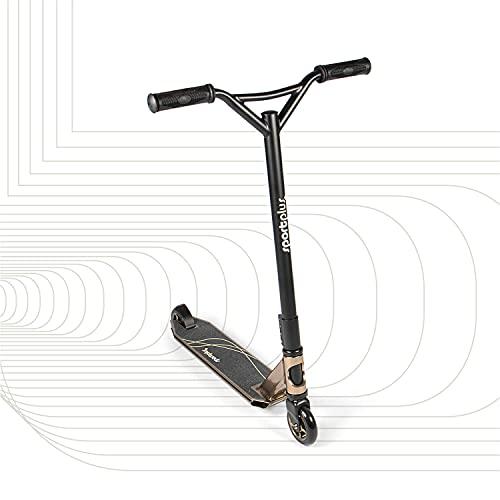 SportPlus - Trottinette Freestyle - Résistante aux Acrobaties et Sauts - Stunt Scooter/Trick Scooter - Robuste et de Haute Qualité - Plusieurs Coloris Disponibles ! (Doré)