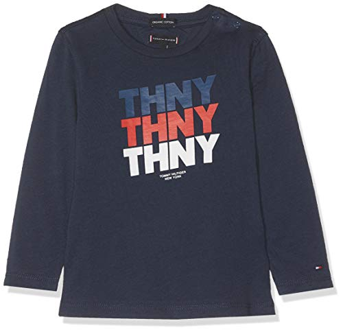 Tommy Hilfiger baby-jongens t-shirt THNY GRAPHIC TEE L/S