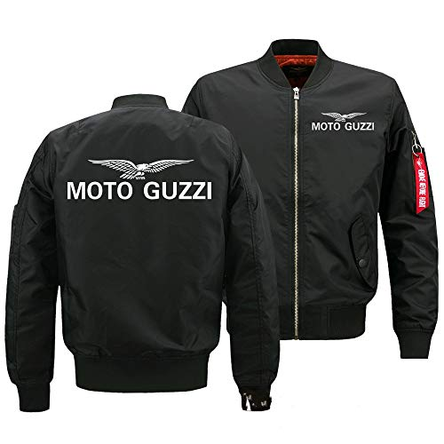 Coat Flying Jacket - Chaqueta de béisbol para hombre (comercio exterior) Moto...