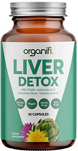Organifi: Liver Detox - Herbal Liver Detox and Support - 30 Day Supply - Optimal Hormone Balance - Increase Energy and Promote Healthy Metabolism - Naturally Cleanse Toxins