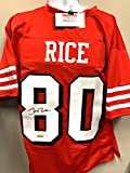Jerry Rice San Fransico 49ers Signed Autograph Custom Shadow Jersey Tristar Authentic Certified