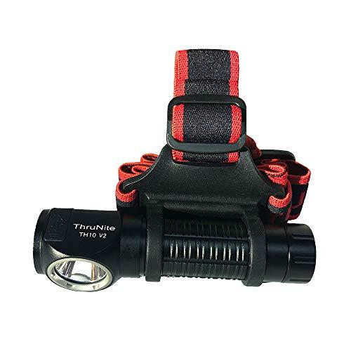 ThruNite TH10 V2 – Linterna LED Frontal con conexión USB – > Recargable; CREE XHP35 HI LED con hasta 2100 lúmenes