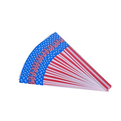 BESPORTBLE 30Pcs Flecha de Tiro con Arco Envuelve Pegatinas de Bandera Americana Adhesivo Termocontraíble Universal Adhesivo de Flecha Flecha Accesorio de Flecha Flecha Caza Accesorio