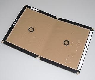 ねずみ捕獲用 ネズミ粘着板 200枚入(100枚×2箱)【業務用 防鼠対策】