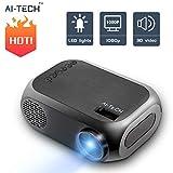 Aitech Mini Proyector Portatil Bombilla De...