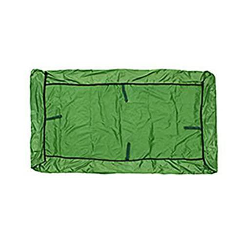MOVKZACV Toldo de repuesto para silla de columpio, cubierta superior impermeable, protección UV, protector contra el polvo, jardín, patio al aire libre